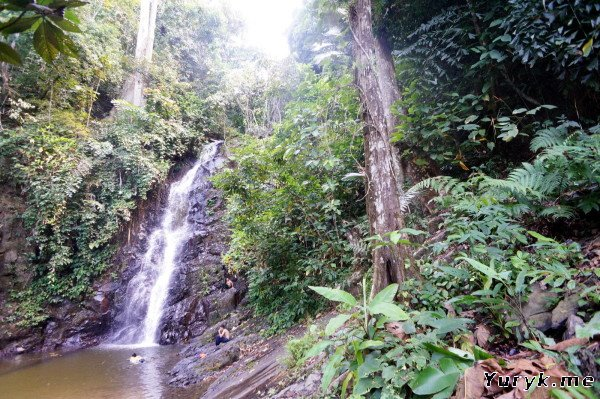 Водопад Дуриан на Лангкави