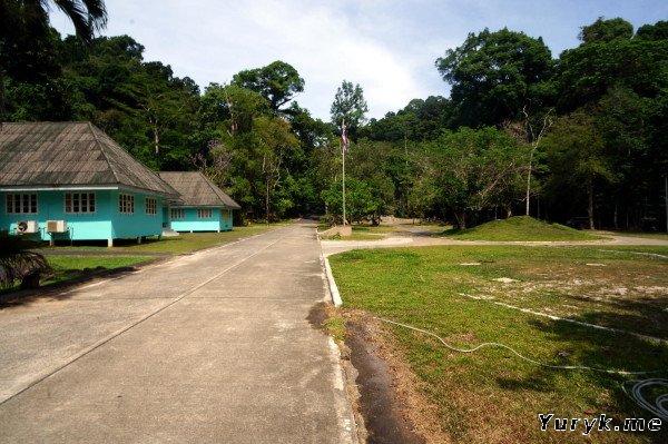 Вход на водопад Ton Sai