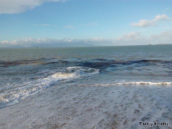Волны и грязь на Бопуте