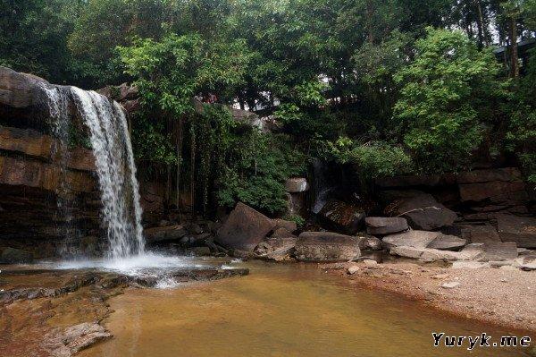 Водопад Кбал Чхай (Kbal Chhay Waterfalls)