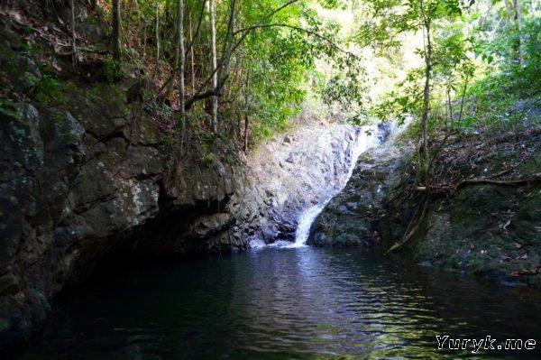 Водопады Ко Чанга: Клонг Чао Лыам (Klong Jao Leuam) или Нанг Йом (Nang Yom)