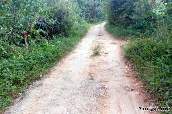 Дорога к водопаду Кай Бей