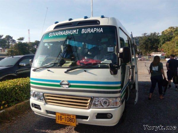 Автобус 392: аэропорт Суварнабхуми - Ко Чанг