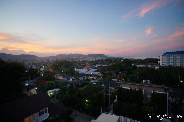 Baan Khu Kieang - вид из окна
